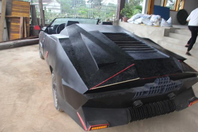 Cận cảnh siêu xe mui trần Lamborghini chờ ngày rước dâu được chế từ xe đồng nát của 9X Hà Tĩnh - Ảnh 10.