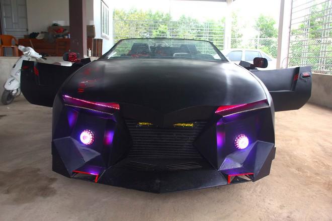 Cận cảnh siêu xe mui trần Lamborghini chờ ngày rước dâu được chế từ xe đồng nát của 9X Hà Tĩnh - Ảnh 9.