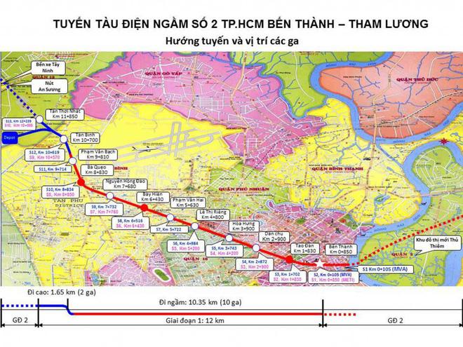 Người Sài Gòn muốn đi tuyến metro số 2 phải chờ thêm ít nhất 6 năm - Ảnh 1.