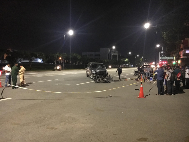 Nam thanh niên bị tai nạn tử vong trên đường đi đón em - Ảnh 1.