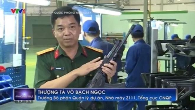Súng trường tấn công kết hợp Galil ACE và AKM độc nhất vô nhị của Việt Nam - Ảnh 4.