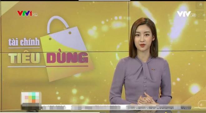 Dở khóc dở cười với Hoa hậu Đỗ Mỹ Linh khi lần đầu lấn sân sang làm biên tập viên trên kênh truyền hình quốc gia - Ảnh 1.