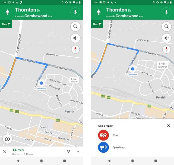 Google Maps thử nghiệm tính năng cảnh báo đoạn đường đang có bắn tốc độ - Ảnh 1.