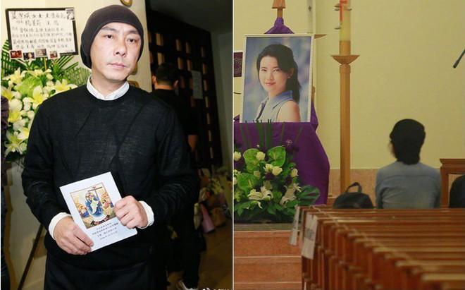 Tang lễ Lam Khiết Anh: Trương Vệ Kiện buồn bã, chị gái lặng người trước di ảnh xinh đẹp của nữ diễn viên