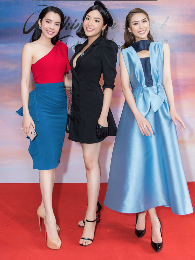 Hoa hậu Tường Linh đọ sắc cùng dàn người đẹp - Ảnh 8.