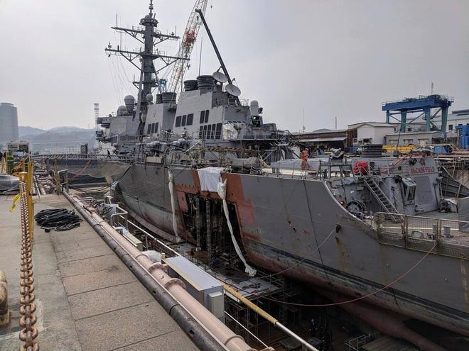 Khu trục hạm tỷ USD Mỹ chuẩn bị tái xuất sau khi bị tàu dầu hạ gục - ảnh 2