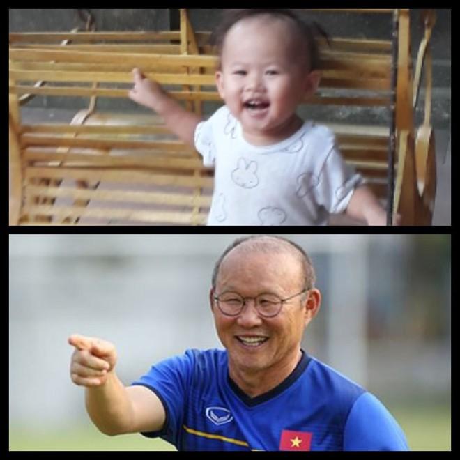 8 khoảnh khắc của cô bé 2 tuổi khiến dân mạng thích thú vì quá giống HLV Park Hang-seo - Ảnh 2.