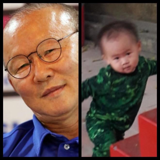 8 khoảnh khắc của cô bé 2 tuổi khiến dân mạng thích thú vì quá giống HLV Park Hang-seo - Ảnh 4.