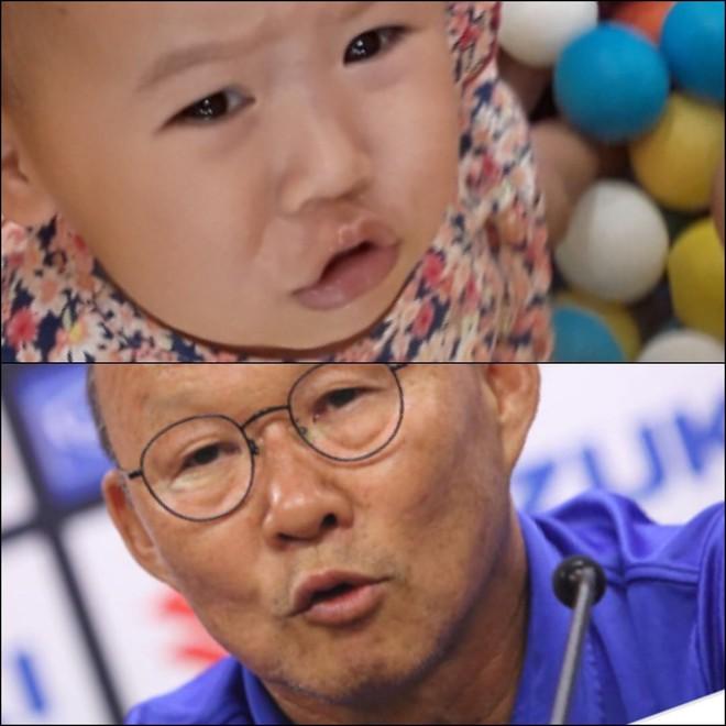 8 khoảnh khắc của cô bé 2 tuổi khiến dân mạng thích thú vì quá giống HLV Park Hang-seo - Ảnh 7.