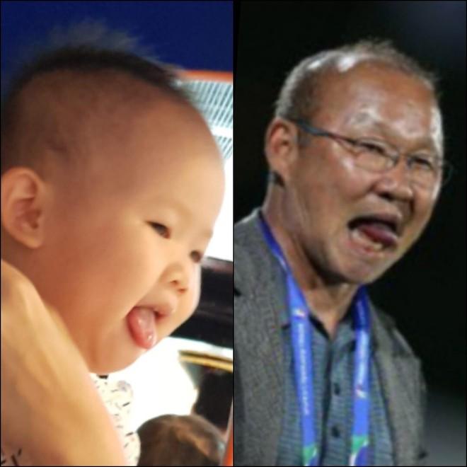 8 khoảnh khắc của cô bé 2 tuổi khiến dân mạng thích thú vì quá giống HLV Park Hang-seo - Ảnh 8.