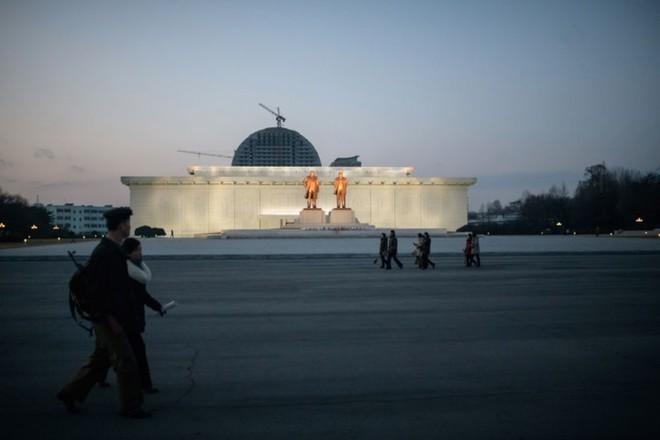 Hình ảnh đẹp về đất nước Triều Tiên trong mùa Đông buốt giá - Ảnh 1.