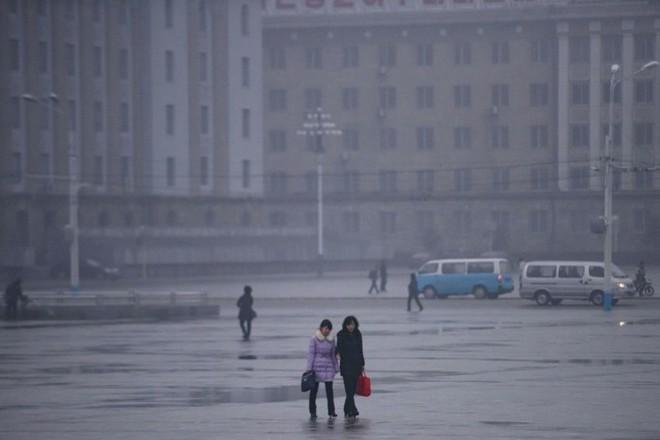 Hình ảnh đẹp về đất nước Triều Tiên trong mùa Đông buốt giá - Ảnh 3.