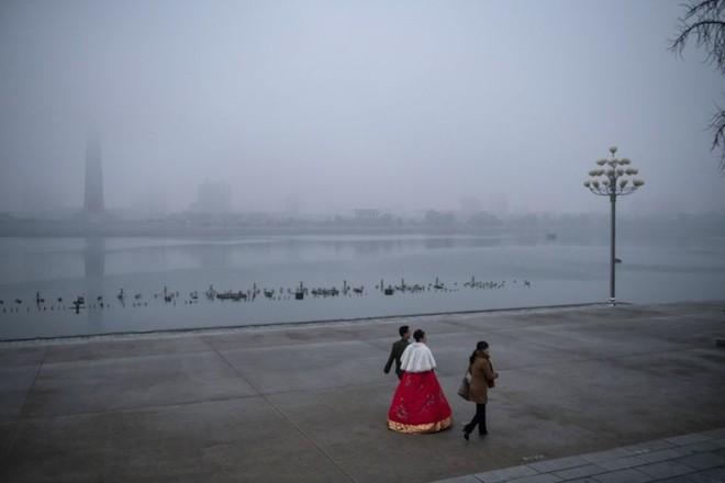 Hình ảnh đẹp về đất nước Triều Tiên trong mùa Đông buốt giá - Ảnh 9.