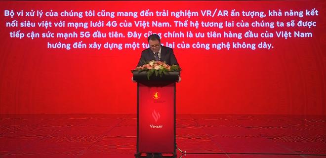 CEO VinSmart: Đây là mẫu điện thoại rất tinh tế, tinh xảo và cao cấp - Ảnh 5.