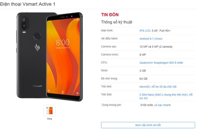 Chưa ra mắt chính thức, điện thoại VSmart đã công bố thời điểm mở bán và giao hàng dự kiến - Ảnh 4.