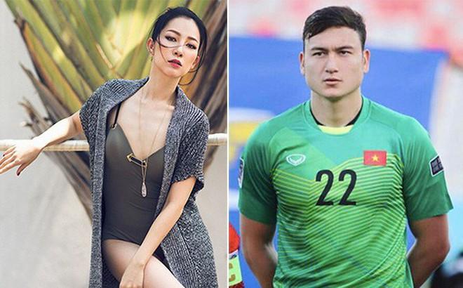 Chị họ Lâm Tây: Là mỹ nhân đình đám, thường được thủ môn tuyển Việt Nam hộ tống