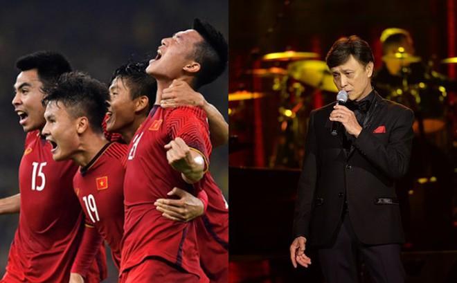 Tuấn Ngọc: 40 năm đi hát, chưa bao giờ tôi ngóng về Mỹ Đình và đội tuyển Việt Nam như thế này