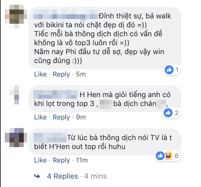 Khán giả bức xúc, tiếc nuối cho HHen Niê vì lỗi phiên dịch câu hỏi ứng xử - Ảnh 5.