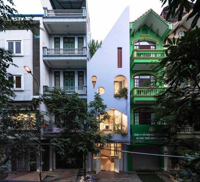 Thiết kế lạ của ngôi nhà Việt trên báo Mỹ - Ảnh 1.