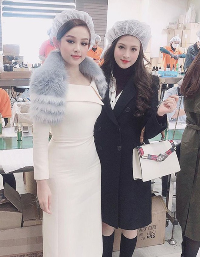 Em gái Huyền Baby: Chỉ xài hàng hiệu đắt đỏ, có người yêu Hàn Quốc là nhờ chị gái tặng - Ảnh 1.