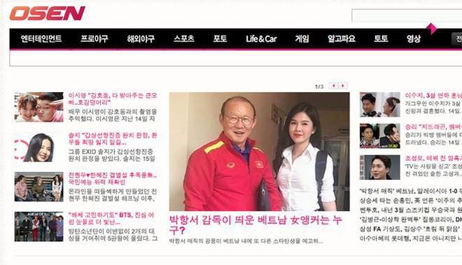 MC theo chân HLV Park Hang Seo được cư dân mạng Hàn săn lùng là ai? - Ảnh 1.