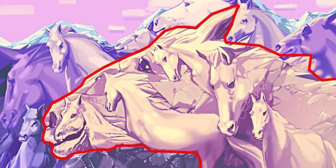 Số ngựa thấy trong tranh sẽ định đoạt bạn có phải lãnh đạo tài giỏi bẩm sinh hay không - Ảnh 2.