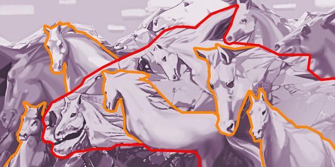 Số ngựa thấy trong tranh sẽ định đoạt bạn có phải lãnh đạo tài giỏi bẩm sinh hay không - Ảnh 3.