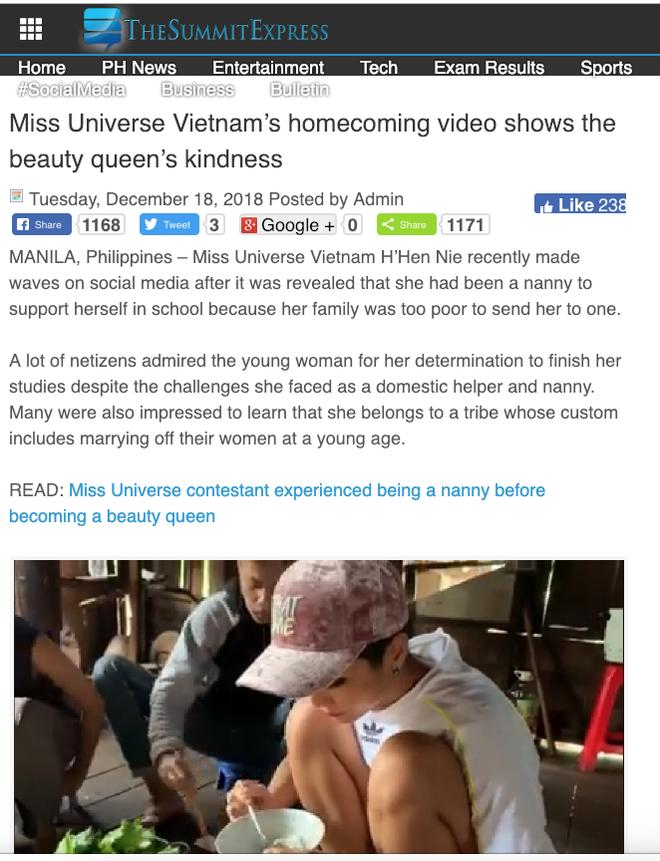 Báo chí, cộng đồng mạng quốc tế dậy sóng với hình ảnh căn nhà và cách ứng xử của HHen Niê - Ảnh 4.