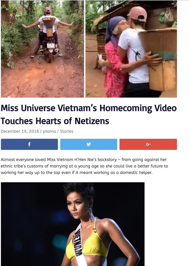 Báo chí, cộng đồng mạng quốc tế dậy sóng với hình ảnh căn nhà và cách ứng xử của HHen Niê - Ảnh 6.