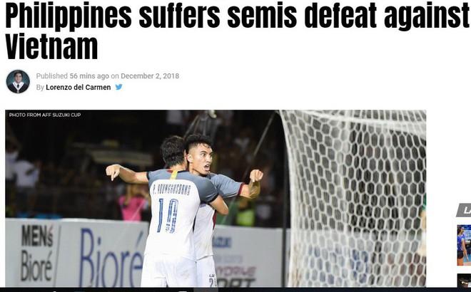 """Báo Philippines hoang mang, thừa nhận đội nhà """"bất lực"""" trước Việt Nam"""