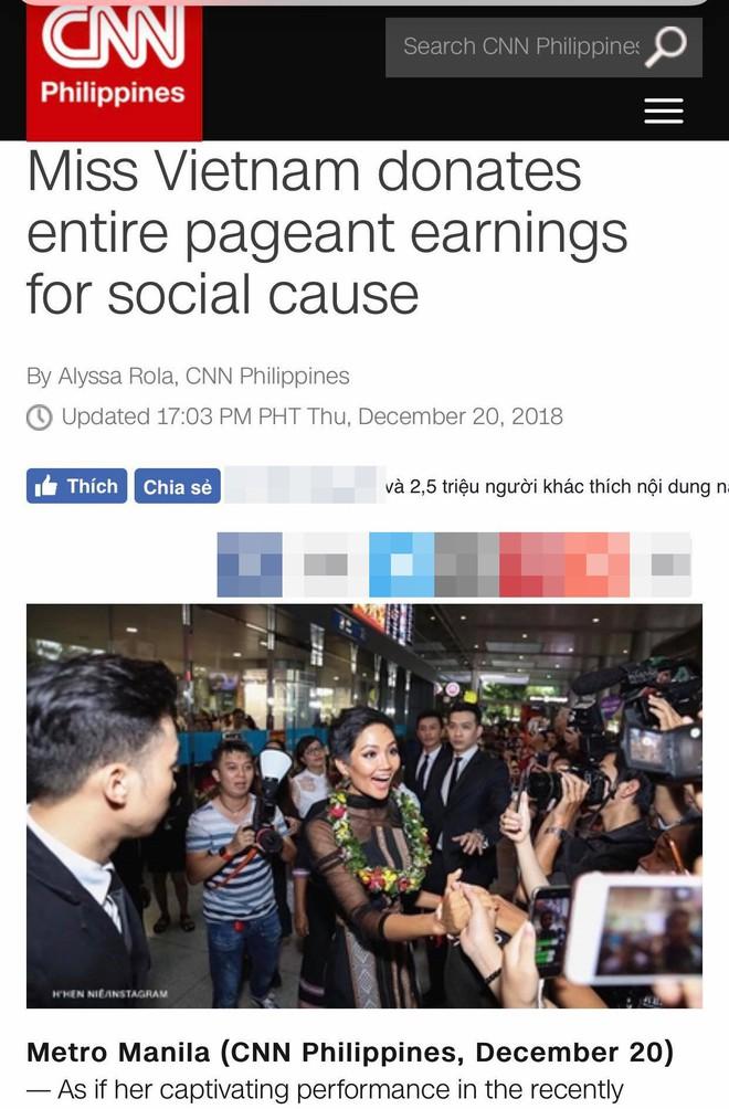 CNN đăng bài viết về cách ứng xử của HHen Niê, dư luận quốc tế lại tiếp tục phát sốt - Ảnh 2.