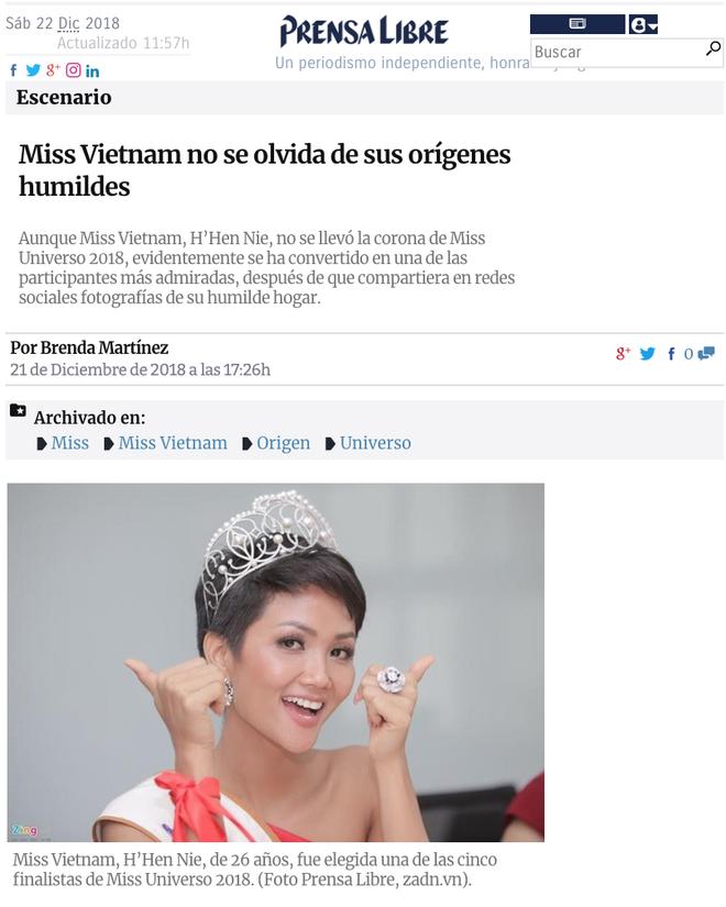 Báo nước ngoài vẫn phát sốt vì HHen Niê và giá trị thật sự của một hoa hậu - Ảnh 3.