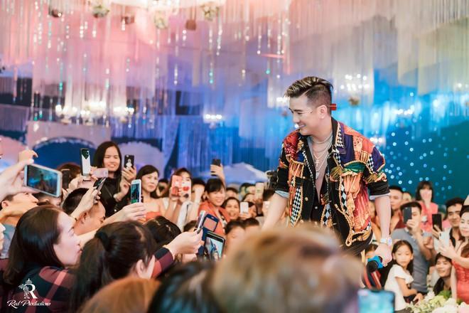 Đàm Vĩnh Hưng xuất hiện trong siêu đám cưới ở Hưng Yên - Ảnh 8.