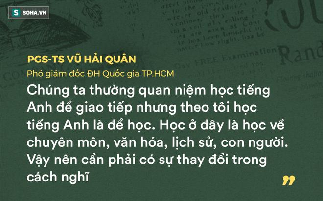 GS Nguyễn Tiến Dũng: Tôi đoán nhiều GS, TS ở Việt Nam rất sợ sát hạch tiếng Anh - Ảnh 2.