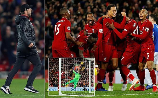 Bàn thắng không tưởng của nhân vật không ai ngờ giúp Liverpool bám sát Man City