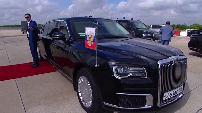 G20: Ông Putin tranh thủ quảng cáo siêu phẩm nhà làm khiến mọi người đều trầm trồ - ảnh 1