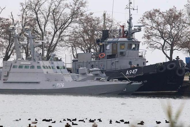 Tuyên bố cứng rắn của Ukraine liên quan đến eo biển Kerch - Ảnh 3.
