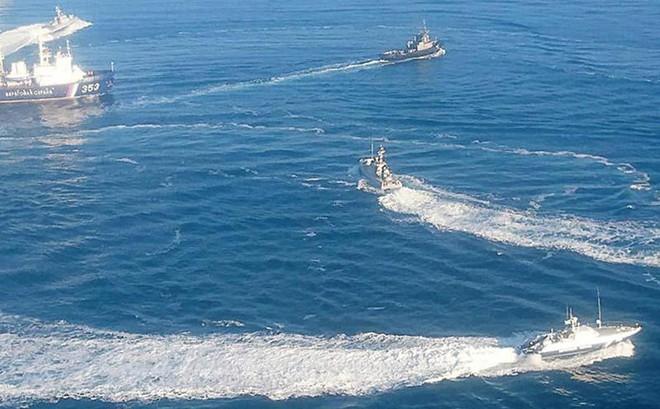 Tuyên bố cứng rắn của Ukraine liên quan đến eo biển Kerch - Ảnh 4.