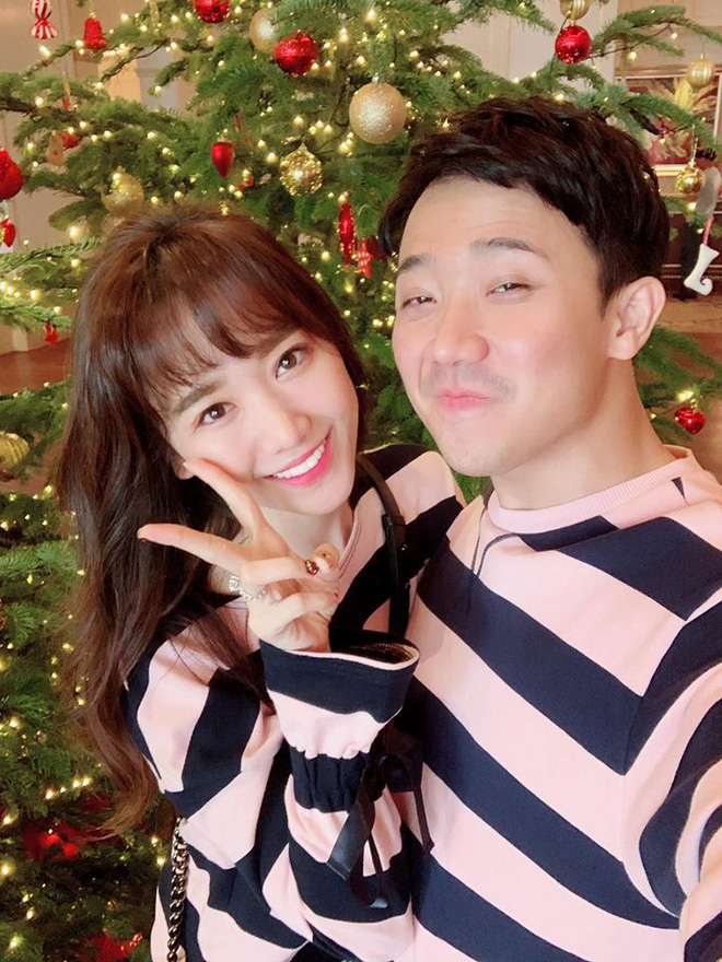 Trấn Thành - Hari Won: Đôi vợ chồng chăm diện đồ đôi nhất showbiz Việt - Ảnh 2.