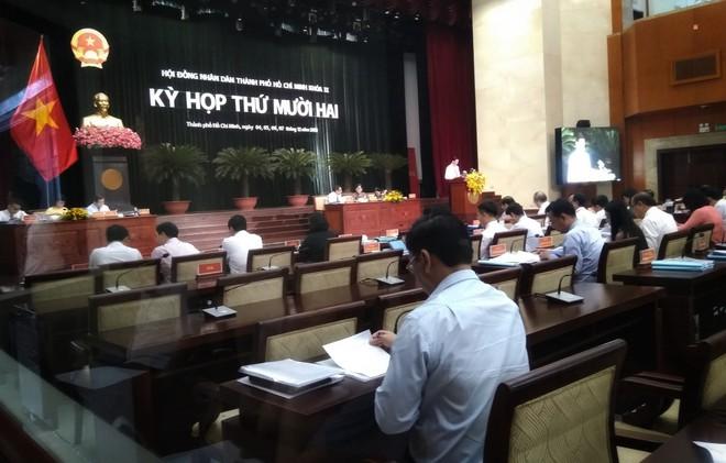 Báo cáo vấn đề Thủ Thiêm tại kỳ họp thứ 12 HĐND TP HCM - Ảnh 1.