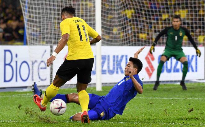 Thái Lan 2-2 Malaysia: Thái Lan đá hỏng penalty, Malaysia vào chung kết