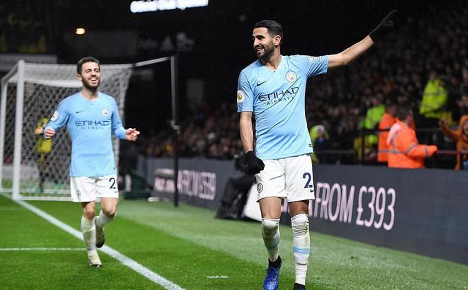 """""""Nổ súng"""" chớp nhoáng, Man City gieo rắc nỗi sợ hãi khắp Premier League"""