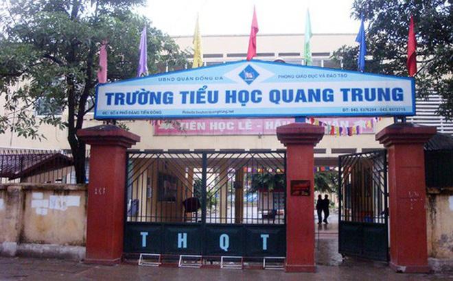 Nhà trường đang xác minh vụ học sinh lớp 2 bị cô giáo cho bạn tát 50 cái ở Hà Nội