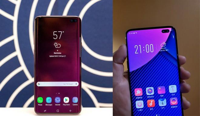 Samsung Galaxy S10+ lần đầu xuất hiện 'bằng da bằng thịt' với viền màn hình gần như không tồn tại - ảnh 2