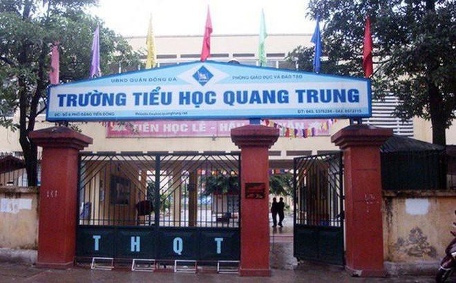 """Phụ huynh Trường Tiểu học Quang Trung nói về vụ """"cô giáo phạt học sinh 50 bạt tai"""""""
