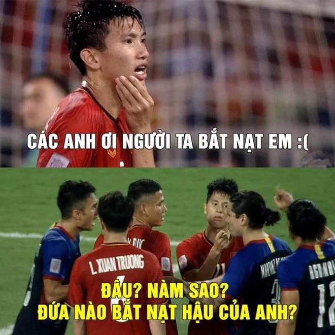 Quang Hải và lời than thở sau khi liên tục dính đòn từ những cầu thủ Philippines cao to - Ảnh 6.