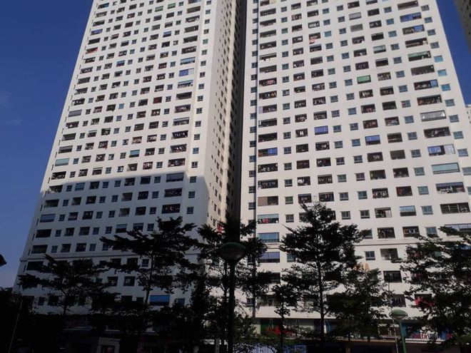 Cư dân hoảng loạn khi thang máy chung cư HH Linh Đàm gặp sự cố - Ảnh 1.