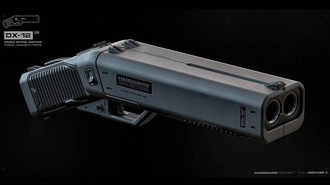 Chiêm ngưỡng Kẻ trừng phạt - mẫu súng shotgun cưa nòng siêu đẹp - Ảnh 1.