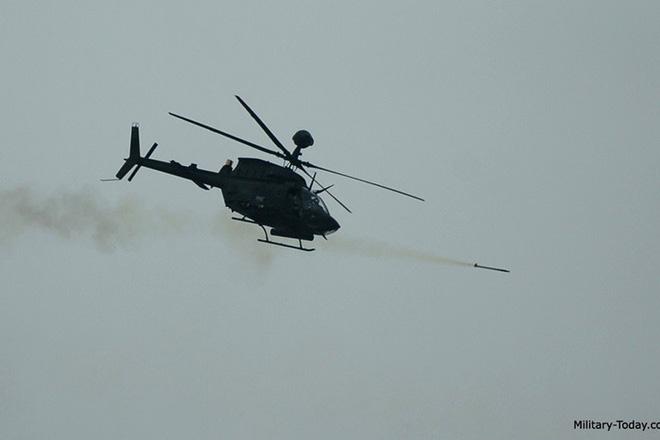 """Ảnh: Trực thăng """"Chiến binh"""" trinh sát OH-58D Kiowa của quân đội Mỹ - Ảnh 11."""