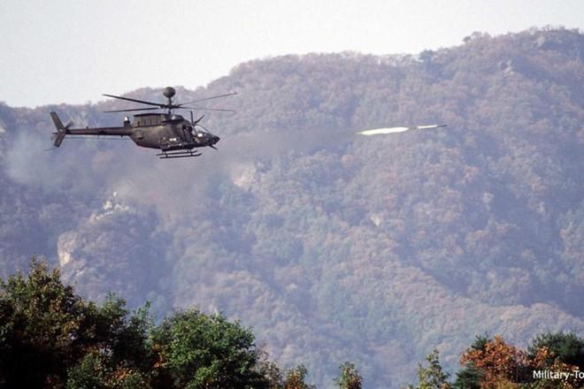 """Ảnh: Trực thăng """"Chiến binh"""" trinh sát OH-58D Kiowa của quân đội Mỹ - Ảnh 12."""